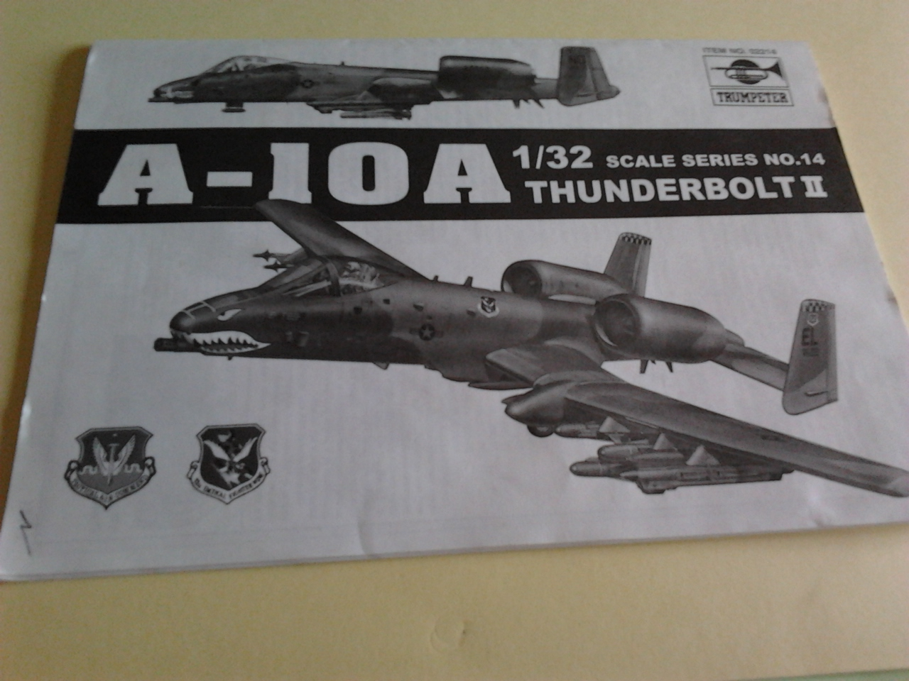 Review kit A-10A Thunderbolt II .Trumpeter 1/32.... 29948728