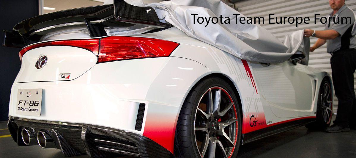 Toyota Team Europe Forum