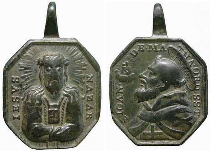 Recopilación medallas con el Rostro de Cristo ( Salvator Mvndi II) 6c5x
