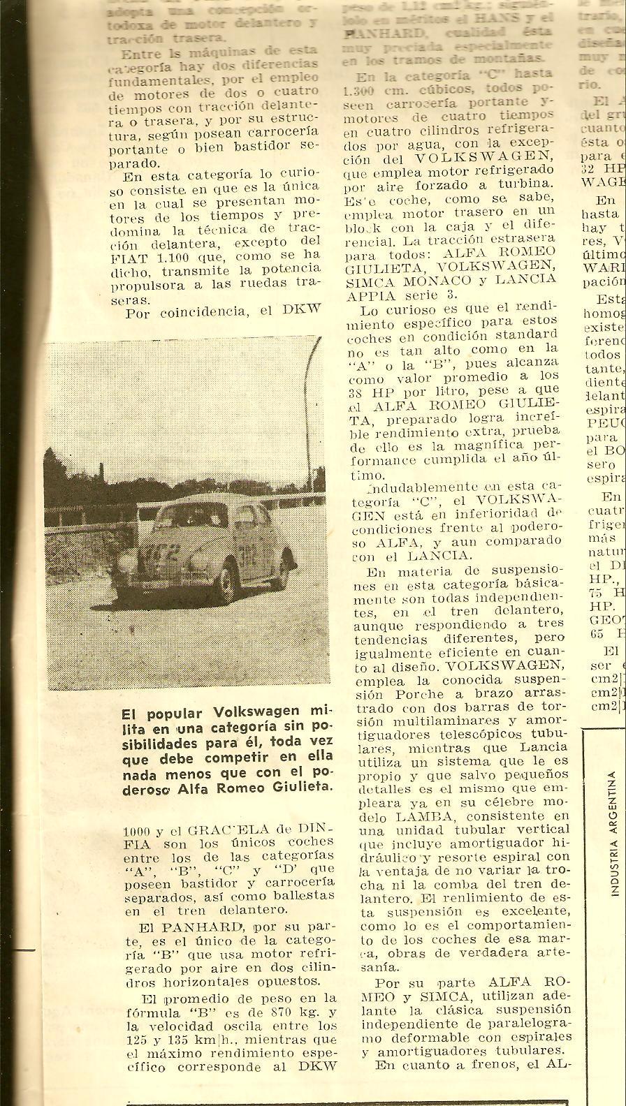 recortes viejos referentes a VW y a los Aircooled's...  1961escarabajocarreratu