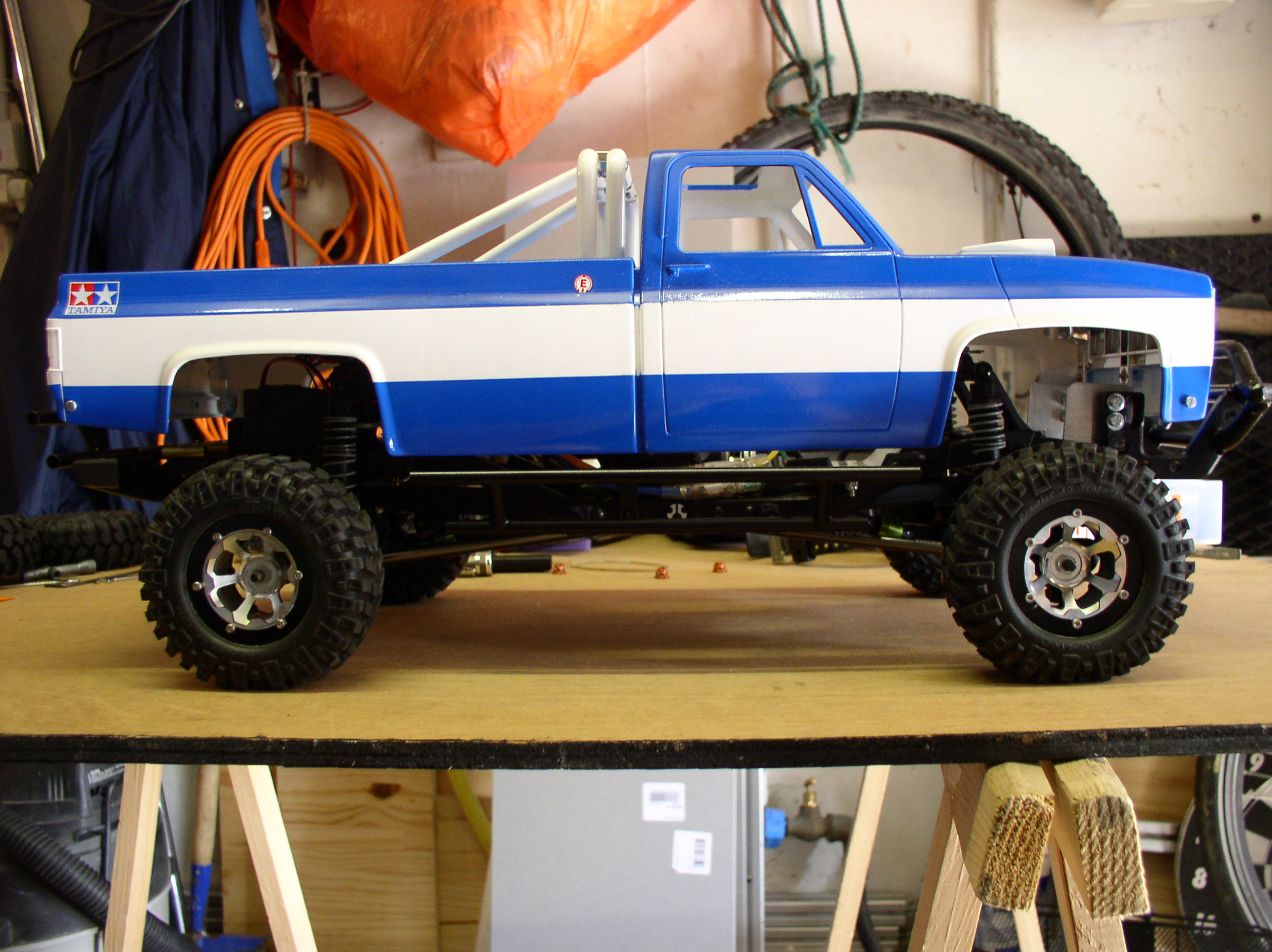 """[ SCX10 Axial ] CHEVROLET K5 Pick-up, benne rallongée.""""TERMINE"""" - Page 2 P1010003px"""