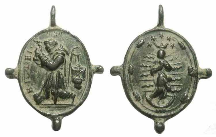Beato Juan de Dios / Anunciacion -  S. XVII - MR(008) (R.M. Pe Juan de Dios 3) Bjuandios