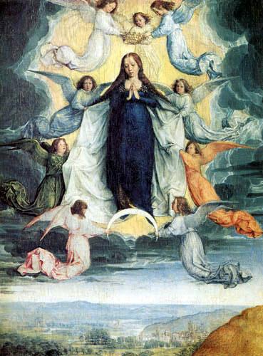 San Antonio Abad -Asunción de la Virgen, S. XVII Asuncindelavirgen
