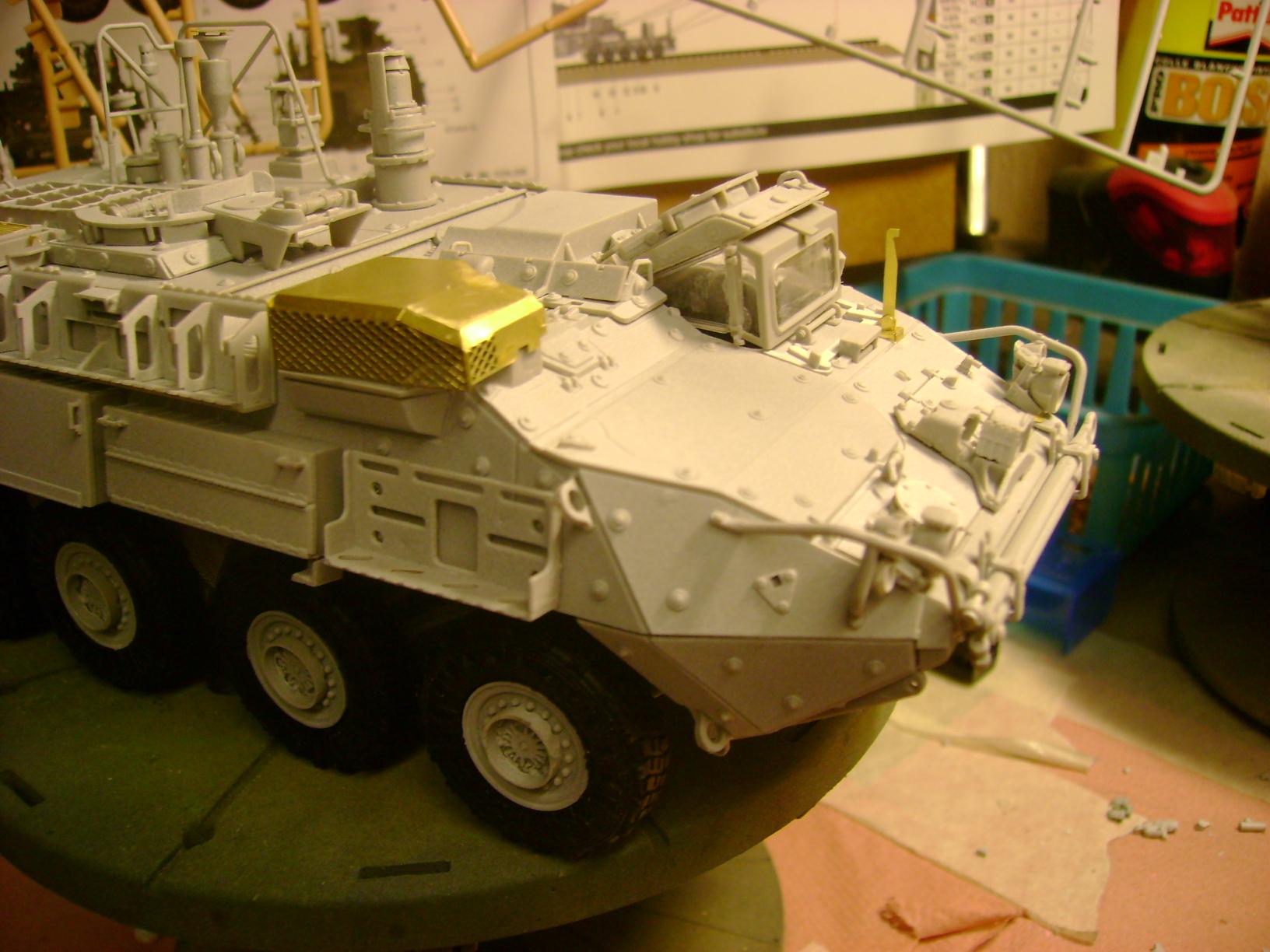 M1135 Stryker NBC RV 1/35 Trumpeter.... Terminé.... 38316599