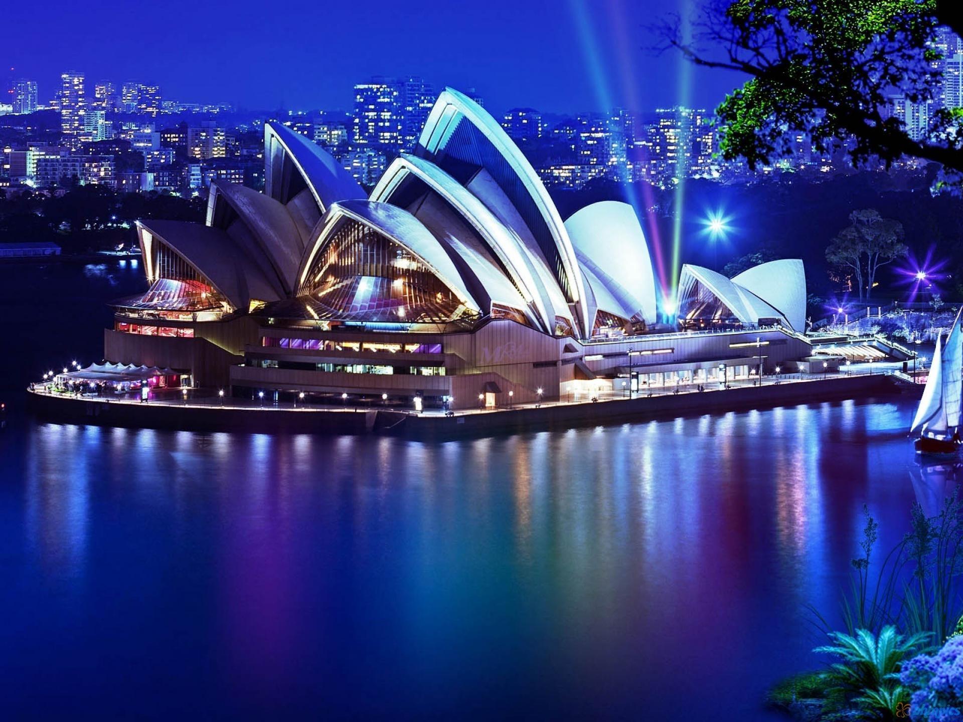 Australia HD Wallpapers Sydneyoperahouseatnight