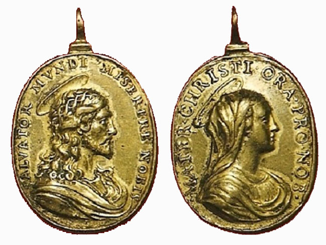 Recopilación medallas con el Rostro de Cristo ( Salvator Mvndi II) Cp21