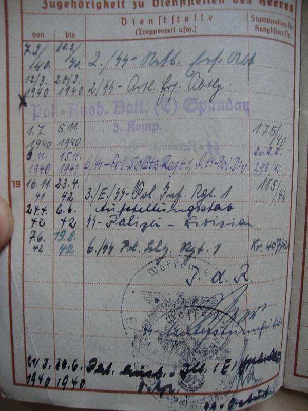 Vos livrets militaires allemands WWII (Soldbuch, Wehrpass..) / Heer-LW-KM-SS... Njwo