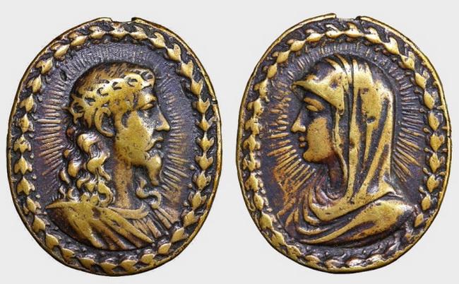 Recopilación medallas con el Rostro de Cristo ( Salvator Mvndi II) Natl