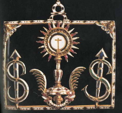 """Santísimo Cristo del Humilladero / Jeroglífico """"S-clavo """" . S.XVIII – MR(035) Sclavo0001"""