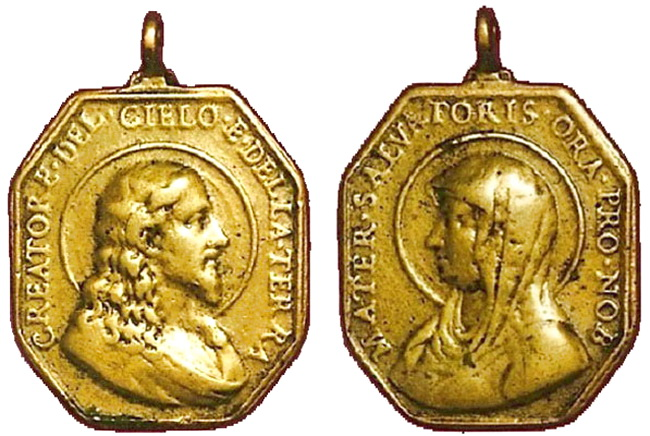 Recopilación medallas con el Rostro de Cristo ( Salvator Mvndi II) Wqla