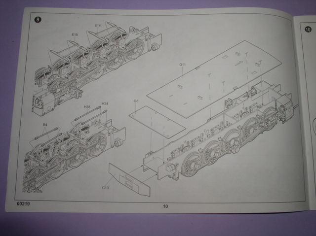 Review Kit German Panzerlok Baureine 57 Trumpeter 1/35 Pb020014