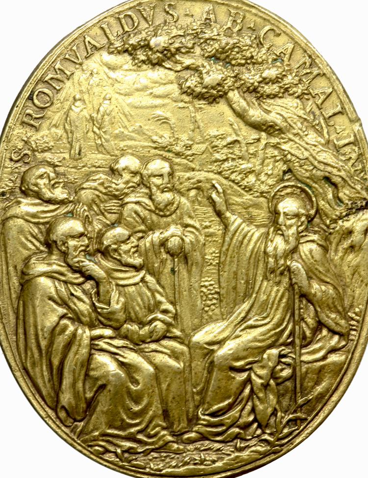 S. Romualdo / Muerte de S. Francisco Javier - Hamerani fechada (R.M. S.XVII-O191) F021aromualdofranciscoj