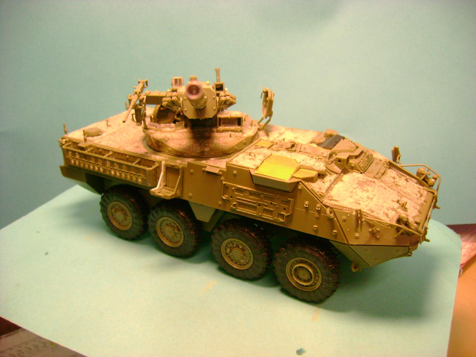 Stryker M1128 MGS ( Montage en cours ) Thunderbird Dsc00578j