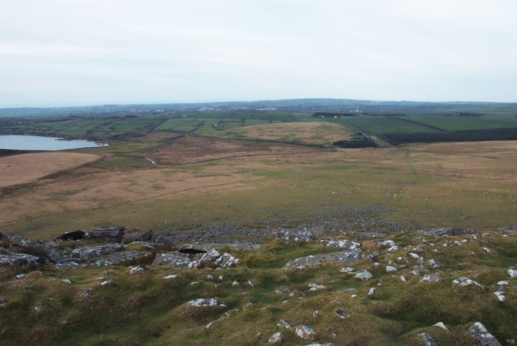 Climbing Roughtor, a Bronze Age site 35043203