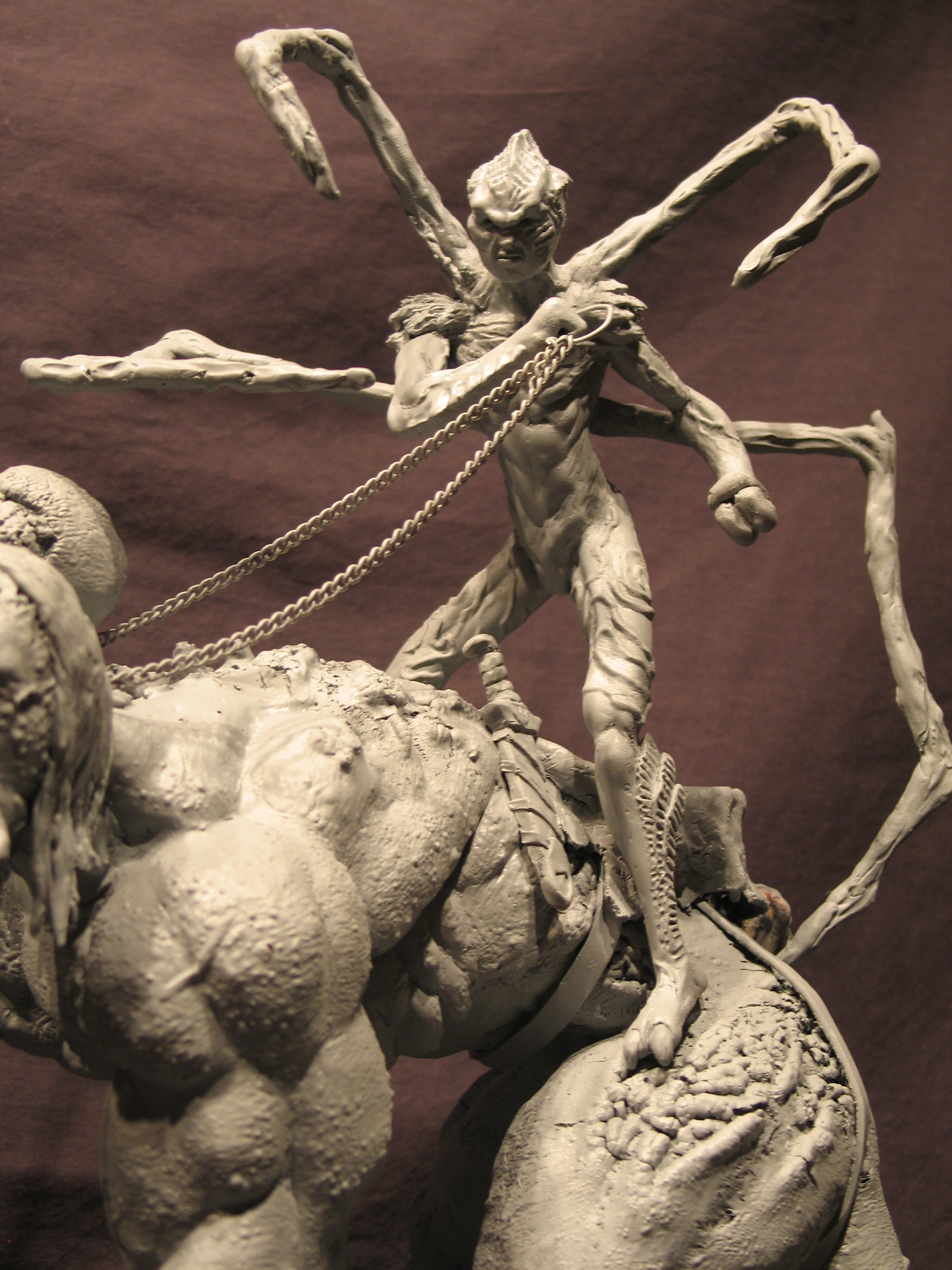 Spiderzero Riding the Shiflett Monster (Concours Shiflett 2) S178