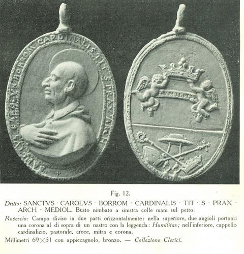 S. Carlos Borromeo / Humilitas  S. XVII (R.M.SXVII-C43) (R.M. SXVII-C103) Figura128110