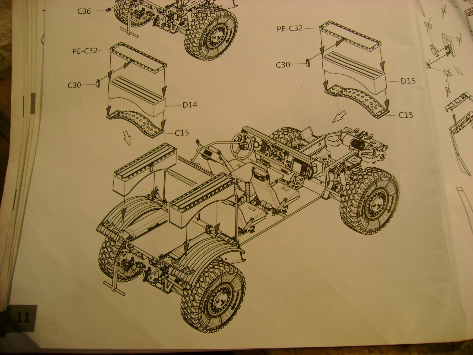 M-ATV Oshkosh....Kit Panda 1/35...Projet terminer !!!!!!!!!! ENFIN !!!!!!!!! - Page 2 705r