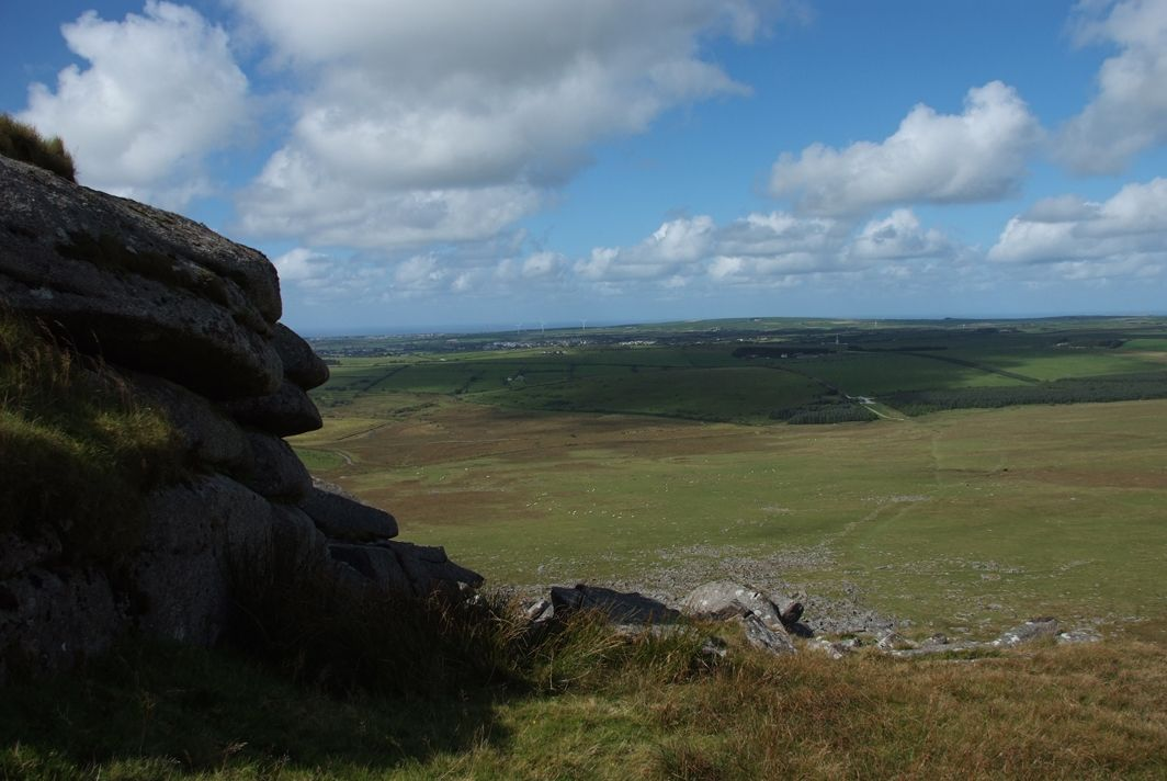 Climbing Roughtor, a Bronze Age site 47420696