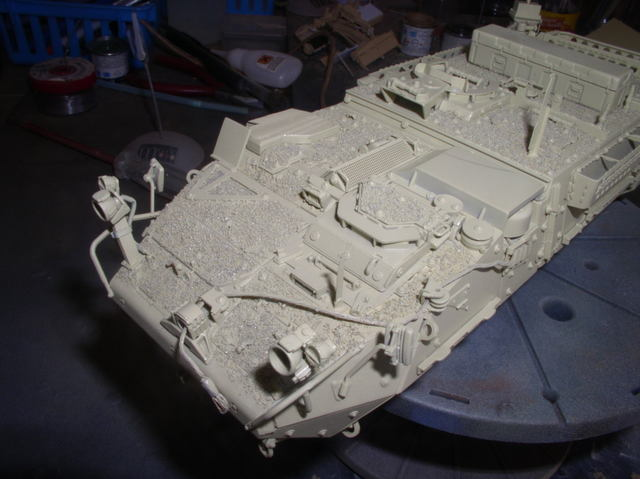 Stryker 1132 mine roller 1/35 Trumpeter Dio terminé - Page 2 52837751
