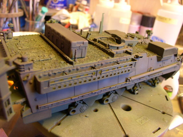 Stryker 1132 mine roller 1/35 Trumpeter Dio terminé - Page 2 94416456