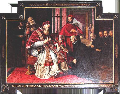 S. Ignacio de Loyola, S. Francisco Javier- Centenario 1640, S. XVII  Q30