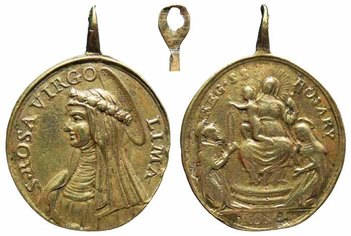 N. S. del Buen Consejo / Entrega del rosario S. XVIII Mr216