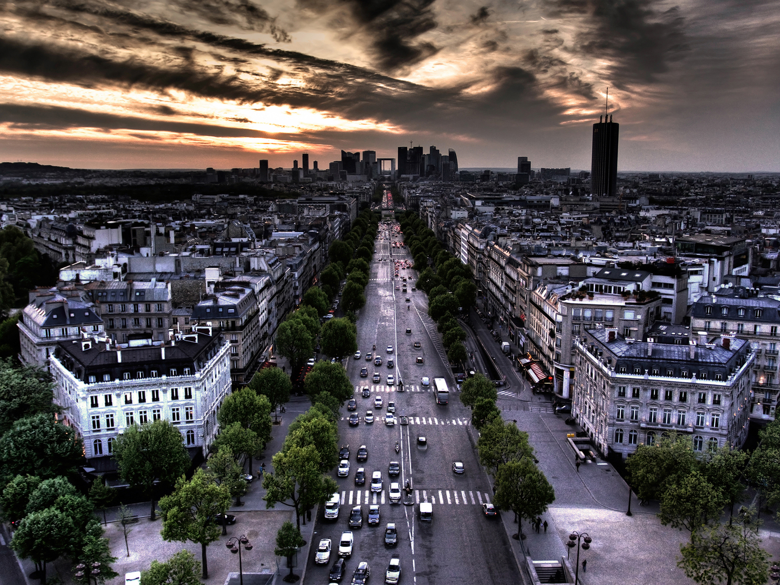 Amazing Cityscape Wallpapers 17colorsofparis1600x120