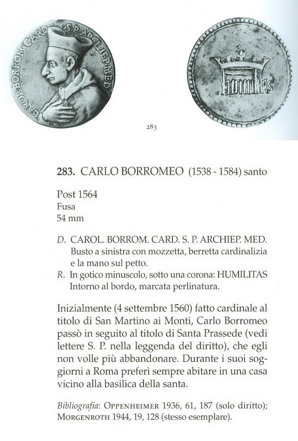 S. Carlos Borromeo / Humilitas  S. XVII (R.M.SXVII-C43) (R.M. SXVII-C103) Torderivanel01copy