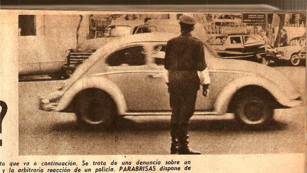 recortes viejos referentes a VW y a los Aircooled's...  1961vwviapublicabsasret
