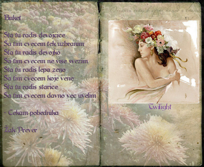 Ljubavna poezija na slici 0696b4db27f02a0bad9aad8
