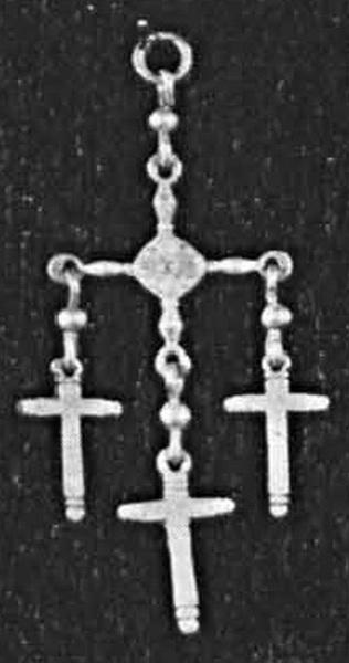 Cruces oro, plata y bronce Yalalag1