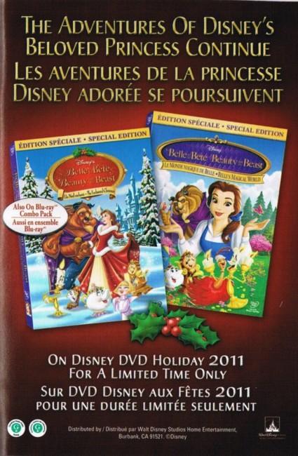 [DVD] La Belle et la Bête 2 : Le Noël Enchanté / Le Monde Magique de La Belle et la Bête (Editions Exclusives) (2010) - Page 4 Ccf2011033000000