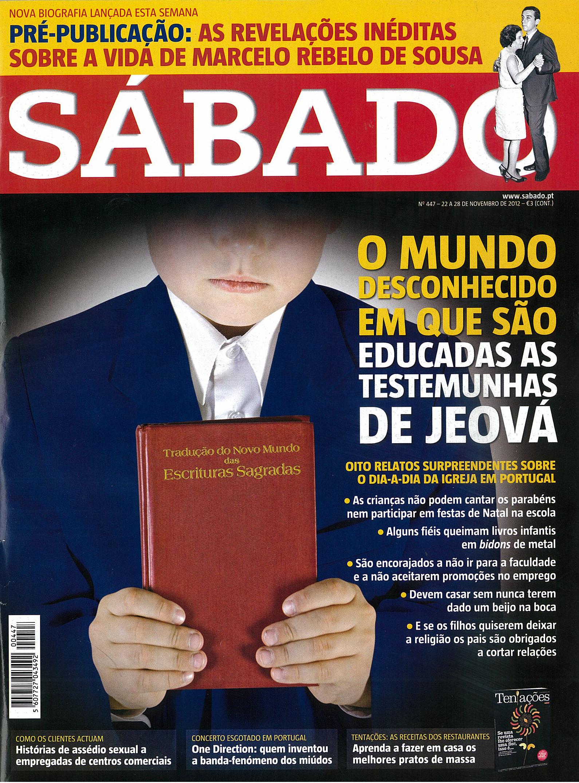 LINK ATUALIZADO - Revista Sábado digitalizada - artigo sobre as Testemunhas de Jeová Capatd
