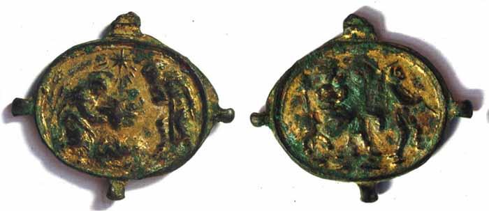 ICONOGRAFIA de la NATIVIDAD en las medallas devocionales Fibulacopy