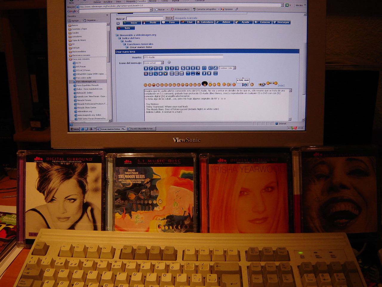 Contacto con el DTS CD Dsc01456kx