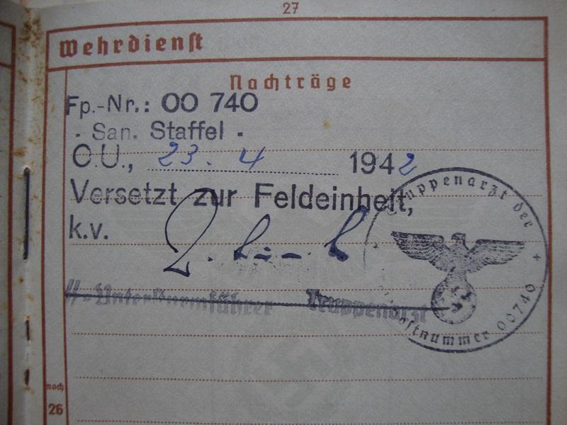 Vos livrets militaires allemands WWII (Soldbuch, Wehrpass..) / Heer-LW-KM-SS... Ro52