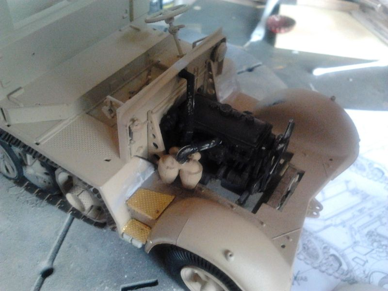 Sd.Kfz.7/1 late version whit Sd.Anhager 52 Trumpeter 1/35( Montage en cours) UP 25/05 - Page 3 94200997