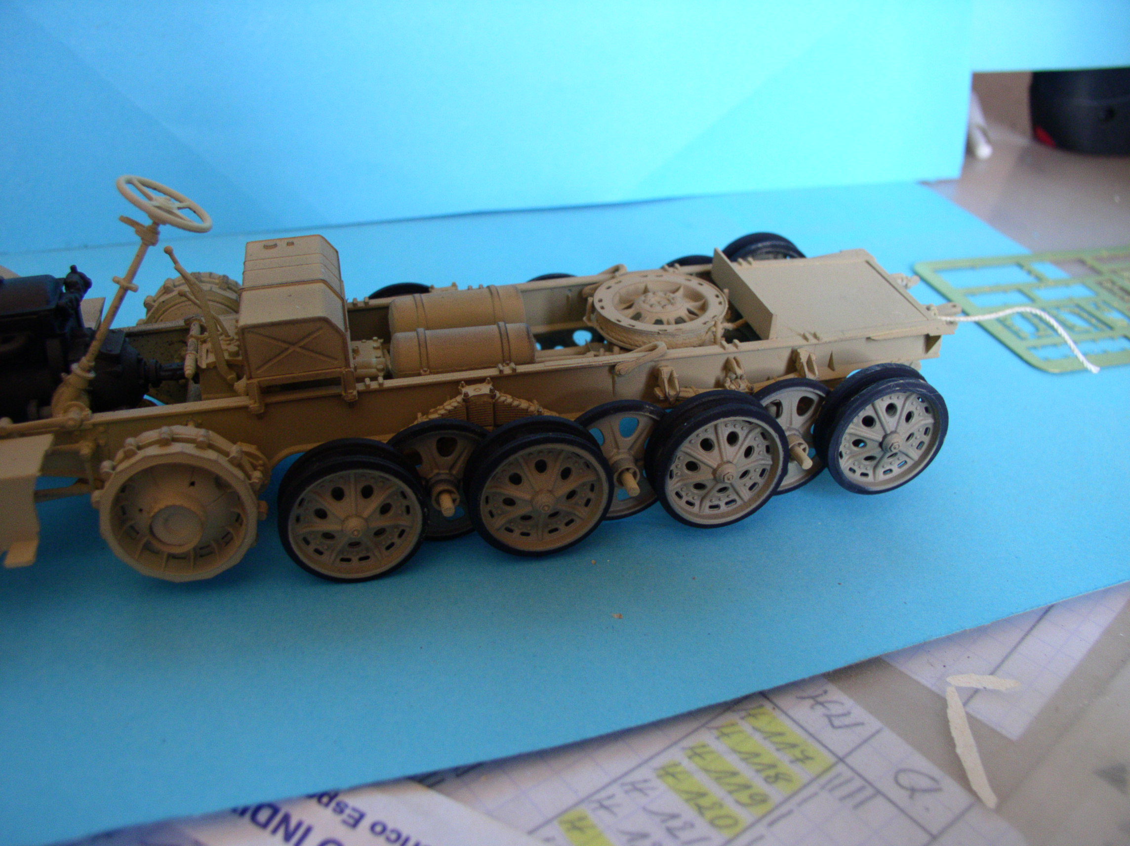 Sd.Kfz.7/1 late version whit Sd.Anhager 52 Trumpeter 1/35( Montage en cours) UP 25/05 - Page 3 83518833