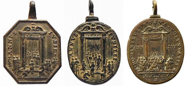 Salvator Mundi / Jubileo  1700 (RM SXVIII-P48) ( HAMERANI ) 7clg