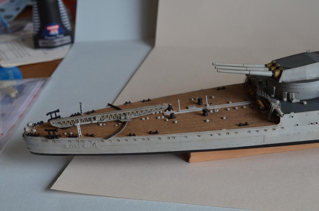 RN ROMA au 1/350 avec Kit Flyhawk. - Page 3 Pu36
