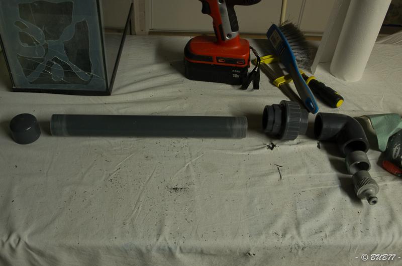 DIY - Fabrication d'un ATS Algae Turf Scrubber Gizy