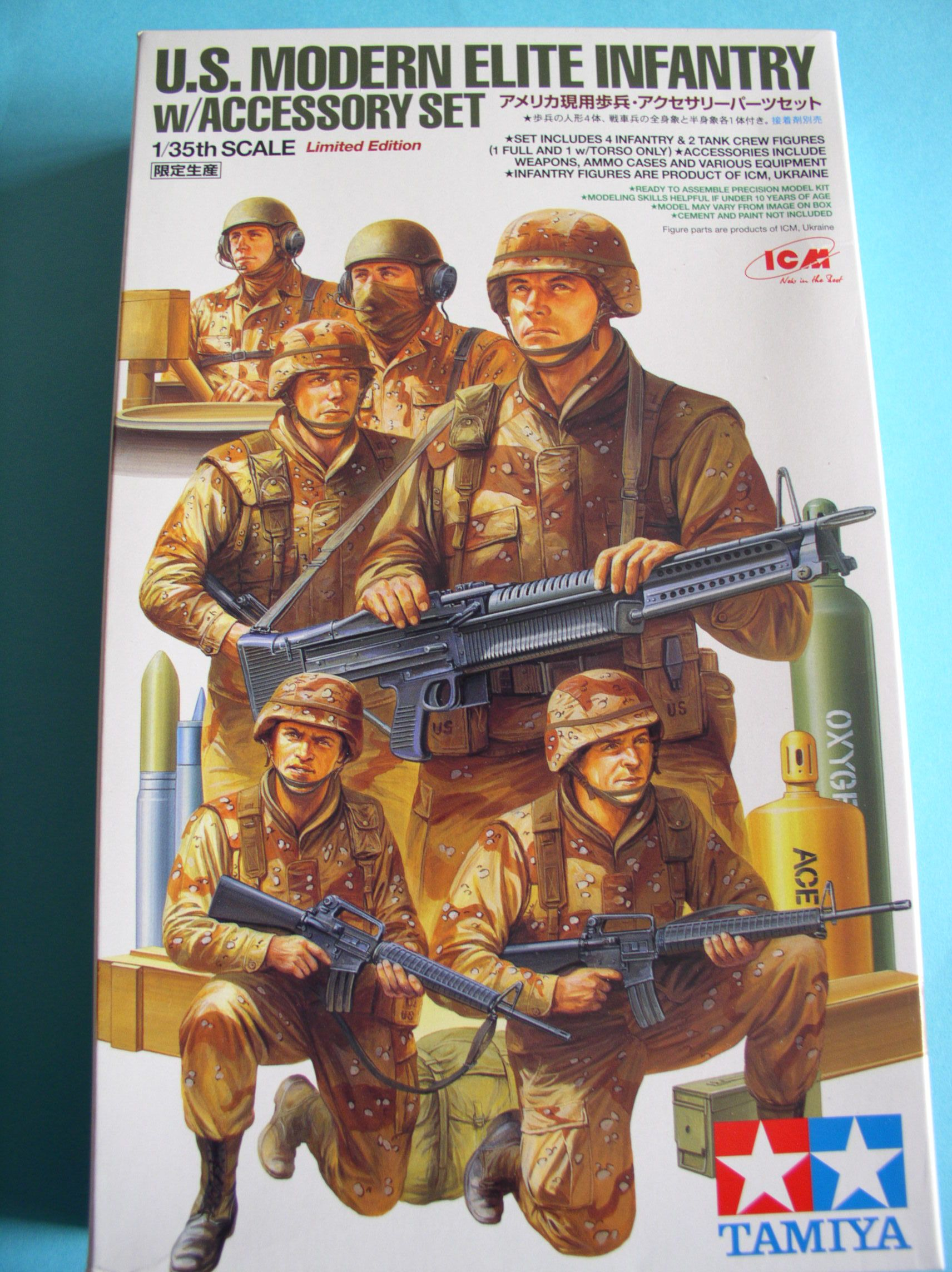 Review Kit US Modern Elite Infantry w/Accessory set 1/35 (Limited edition) 74459136