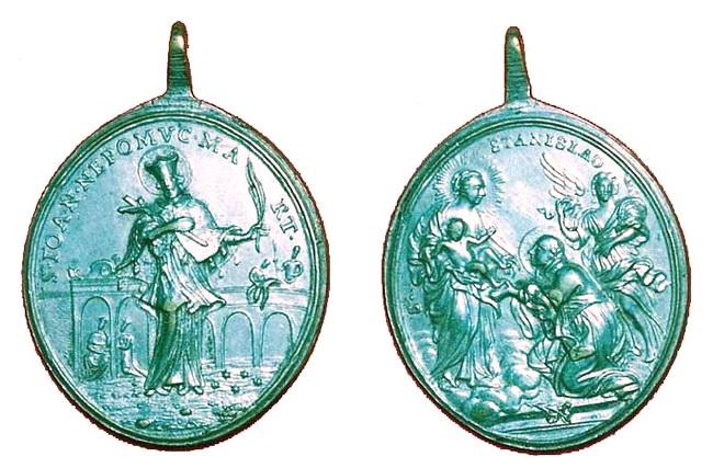 Recopilatorio medallas San Juan Nepomuceno 3flr