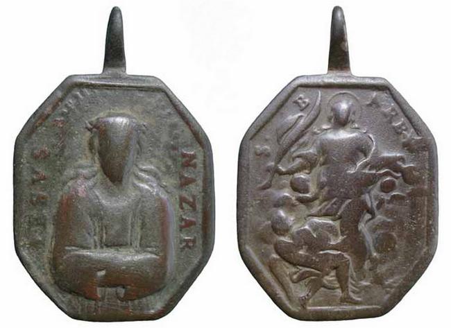 Recopilación medallas con el Rostro de Cristo ( Salvator Mvndi II) 88g0