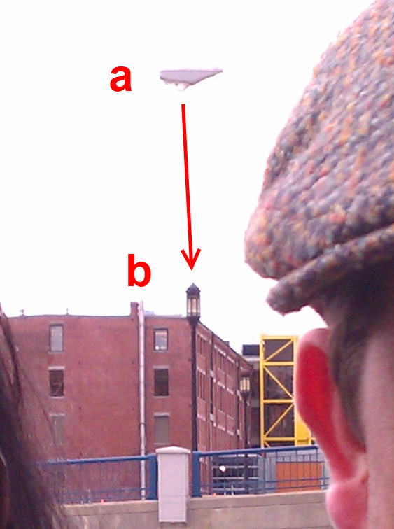 2011: Le 23/03 - Boston (MA), un OVNI photographié? - Page 3 Lampadaire1