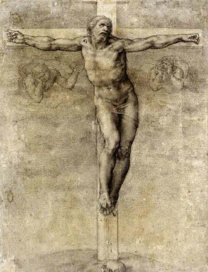 "Crucifijo pectoral con Cristo ""S"". S-XVIII- CC-035 - [Pec021/S-XVIII]* Michelangel"