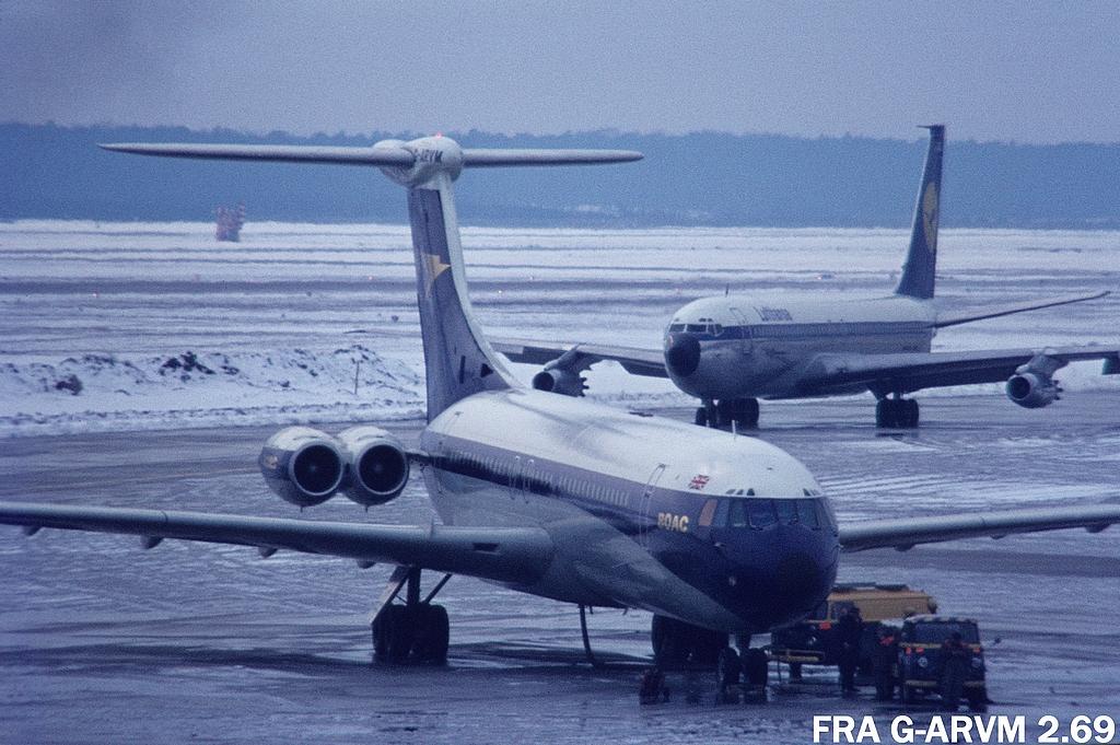 British built Jets in FRA Fragarvm