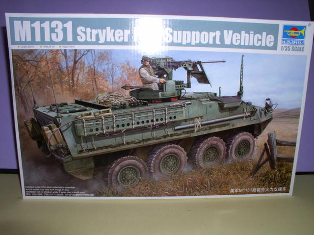 Review Kit Styker 1131 fire support Trumpeter 1/35 41623742