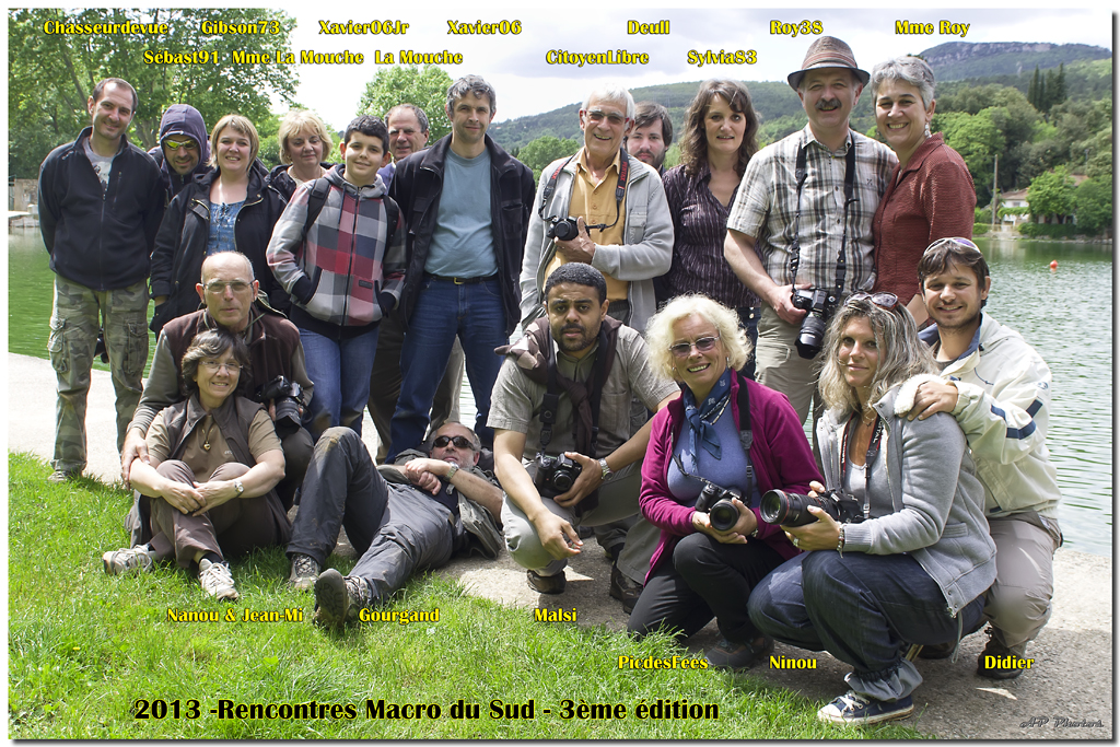 Sortie Anniversaire Macro Sud 2013 - Page 3 Groupeap16891