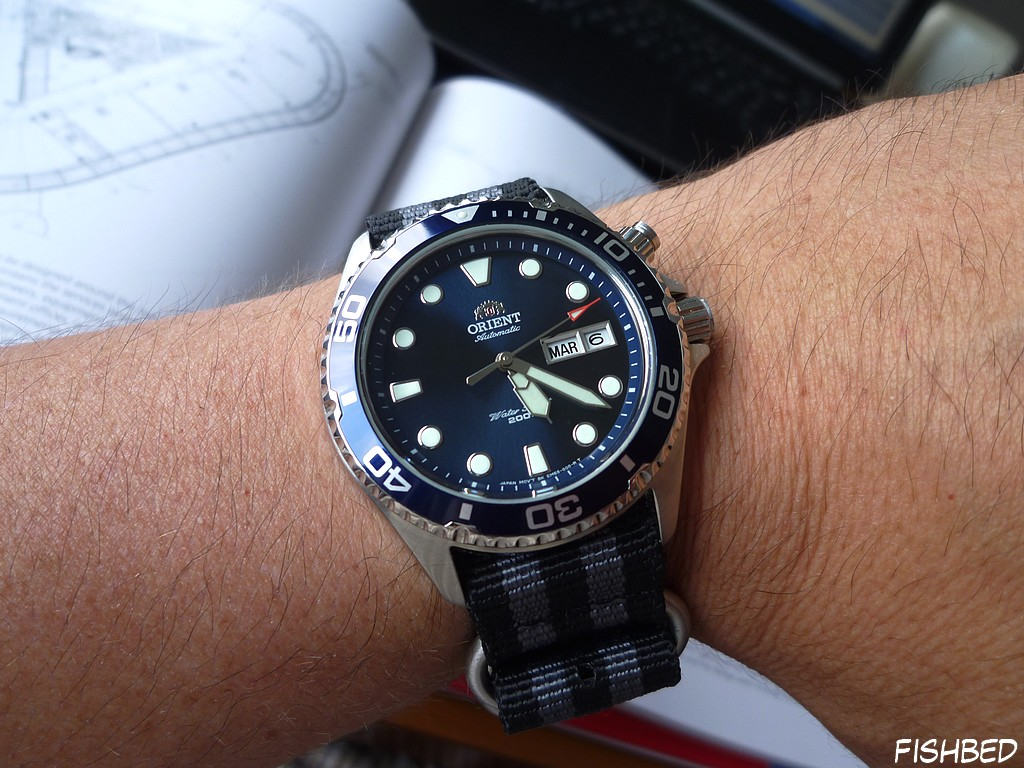 Orient EM6500 Ray Blue 3dhm
